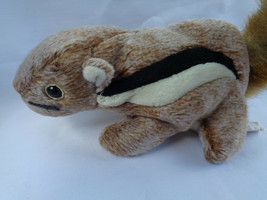 "TY 1999 Chipper The Chipmunk Beanie Baby 7"" Long image 2"
