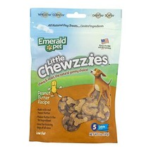 Emerald Pet - Dog Treats for Small and Large Dogs, Peanut Butter, All-Natural, S