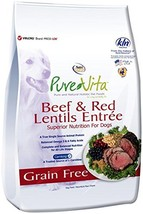 Nutri Source Pure Vita Grain Free Beef & Red Lentils, 15-Pound