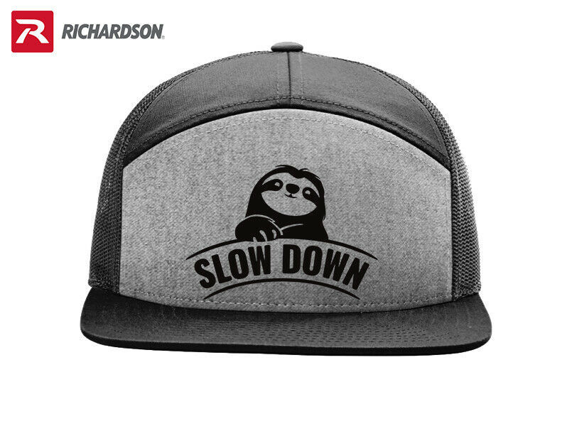 Primary image for SLOTH SLOW DOWN RICHARDSON FLAT BILL SNAPBACK HAT * FREE SHIPPING in BOX*