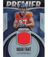 Noah Fant 2019 Panini Prizm Premier Jerseys Relic Card #PJ-NFA - $6.00