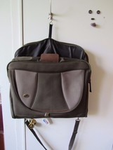 """American Tourister Garment Bag With Shoulder Strap 22"""" When Folded Green - $26.83"""