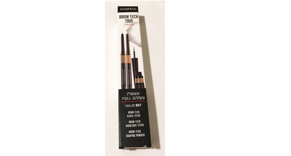 Primary image for Smashbox Brow Tech Trio Full Size Set: Gloss Stick Taupe + Highlight Stick Gold