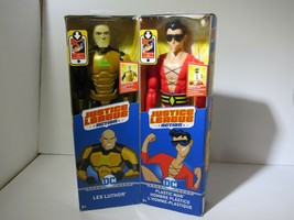 "Justice League Action Lex Luthor /Plastic Man 12""Posable Lot of 2 New in... - $21.73"