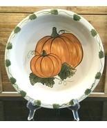 "Williams Sonoma Pumpkin Pie Thanksgiving 10"" Pie Plate - £14.53 GBP"