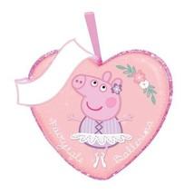 "Valentine's Day Peppa Pig ""Fairytale Ballerina"" Ornament by Kurt Adler-Pink - $11.34"
