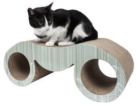 Pet Life Binocular Ultra Premium Modern Exquisite Contoured Cat Scratche... - $42.24