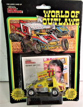 1:64 Racing Champions World Of Outlaws Sprint Car #71 Kenny Jacobs 1993 - $10.00
