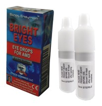 Ethos Bright Eyes Eye Drops for AMD. One box includes 2 x 5ml bottles. - $86.97