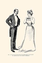 Unnecessary Kissing by Charles Dana Gibson - Art Print - $19.99+