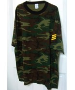 Camouflage T Shirts with Sargeant Stripes - $10.00