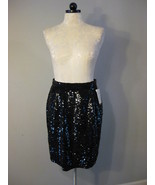Black Sequin Skirt Size 8 NWT - $38.00