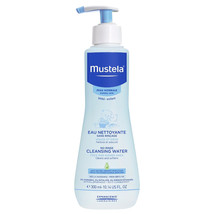 Mustela Soothing No-Rinse Cleansing Water 10.14 oz / 300 ml  - $17.22