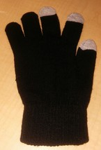 Touch Screen Gloves - Brand New Black, 3-Tip , Stylish, Warm, and Sleek ... - $195,93 MXN