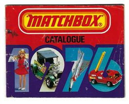 Vintage 1976 Matchbox Diecast Catalog Booklet Insert Vehicle Car Truck Tank Toy - $14.84