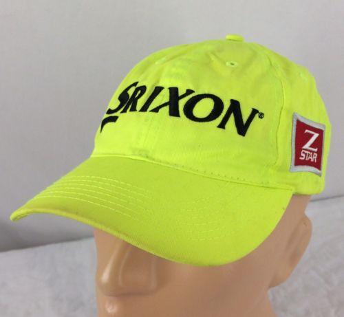 cc806baef35 Srixon Z Star Hat Adjustable Neon Yellow and 50 similar items