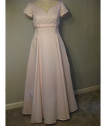Formal Pink Satin Gown By Jordan Size 11-12 NWT - $68.00