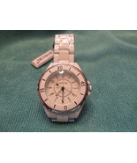 THE HOTEST TIME PIECE GOING CERAMIC WATCH, WHITE. (NEW) - $10.00
