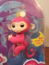 Fingerlings PINK BABY MONKEY ZOE 40 PLUS SOUNDS  NEW - $19.80