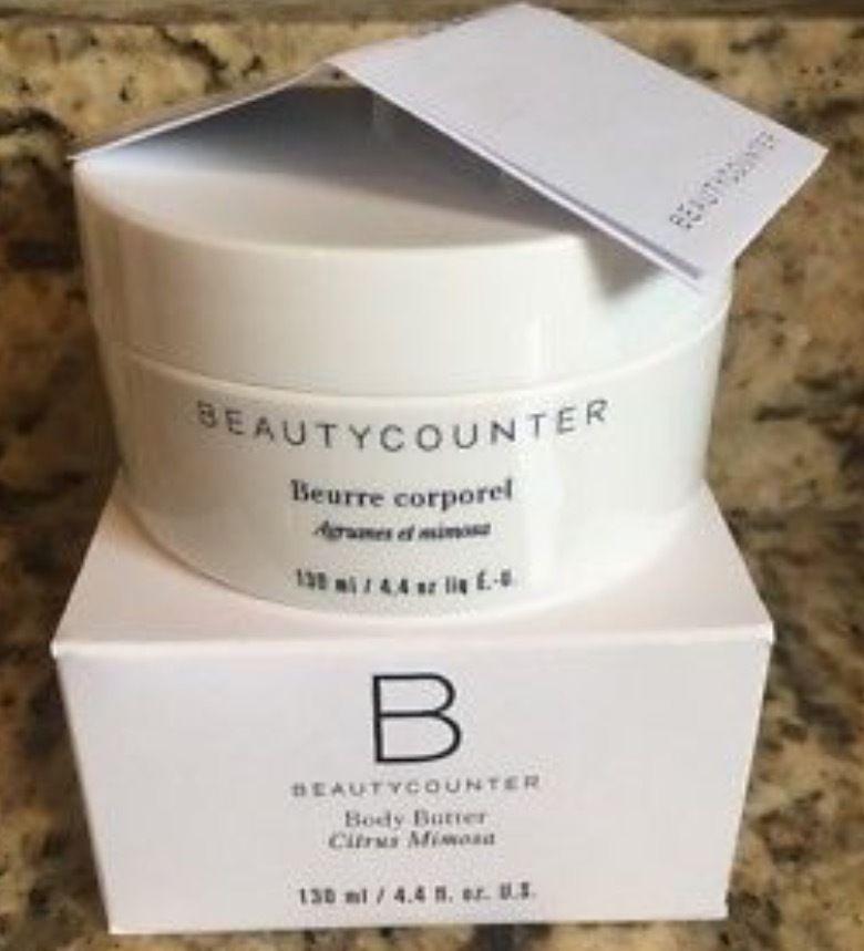 BeautyCounter Beauty Counter Body Butter Citrus Mimosa 4.4 oz - #3037