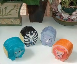 Chunky Safari Book Set Elephant Zebra Lion Rhino - $16.00