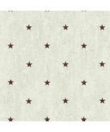 Barn Star Spot Wallpaper York Wallcoverings Country Keepsakes Rustic YC3422 - $60.99