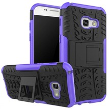 Kickstand Protective Phone Cover Case For Samsung Galaxy A3 (2017) - Pur... - $4.99