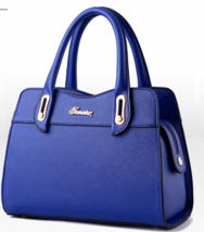 Mixed Color Large Women Handbags Leather Fashion Shoulder Bags Tote Bags... - $40.00
