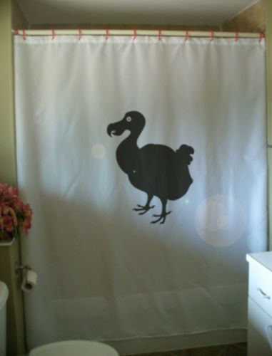 Primary image for Shower Curtain dodo flightless bird extinct Mauritius