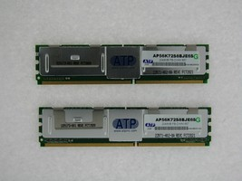 AP56K72S8BJE 4GB 2X2GB PC2-5300 DDR2-667MHz Fully Buffered 240 pin Dimm ATP