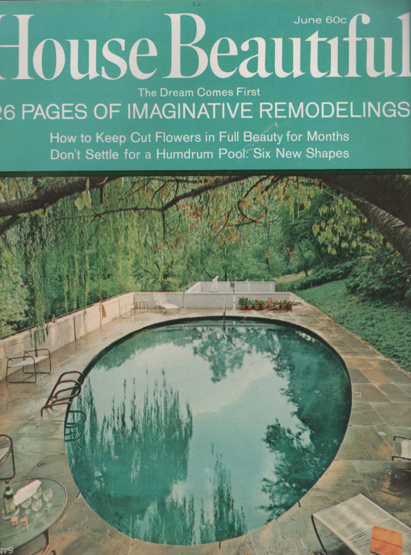 Primary image for House Beautiful Magazine JUNE 1967 Imaginative Remodeling