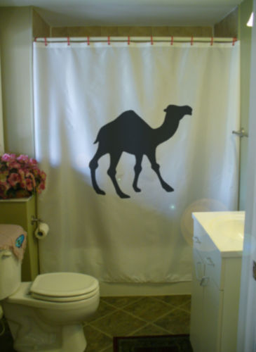 Primary image for Shower Curtain dromedary Arabian camel gamal one hump
