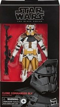 Star Wars The Clone Wars Clone Commander Bly #104 figure 6 in The Black Series - $34.98