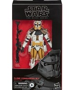 Star Wars The Clone Wars Clone Commander Bly #104 figure 6 in The Black ... - $34.98