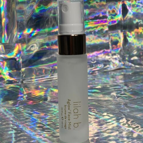 NWOB Lilah B. Aglow Face Mist 10mL Set Refresh Hydrate Clean Non Toxic