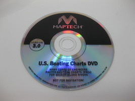 Maptech U.S. Boating Charts GPS Software DVD with BSB3 For Windows Versi... - $69.99