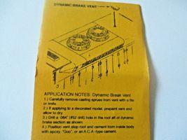 Details West # VF-107 Dynamic Brake Vent & Elect Cabinet Filter HO-Scale image 4