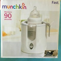 Munchkin Fast™ Bottle Warmer, Heats In 90 Seconds New Open Box, - $18.80