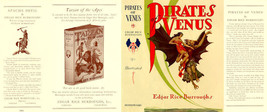 Burroughs, Edgar Rice. THE PIRATES OF VENUS facsimile dust jacket  1st e... - $21.56