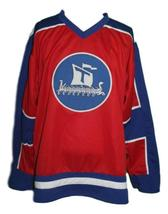 Custom Name # Team Norway Hockey Jersey New Red Any Size image 3