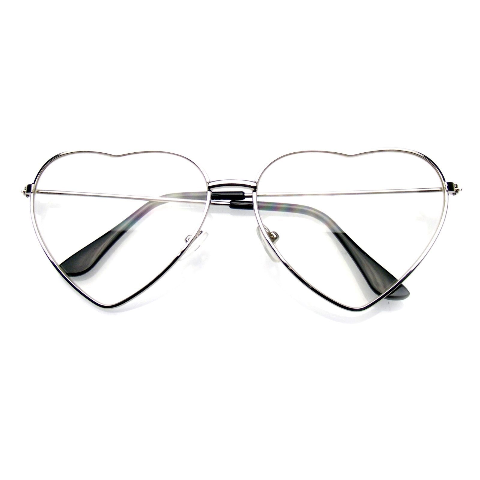 1500cadf58 ... Vintage Retro Fashion Lolita Heart Shaped Aviator Frame Women Sunglasses  ...