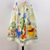 Handmade Vintage Winnie the Pooh Kids Skirt Tie Apron Tigger Piglet Eeyo... - $12.59