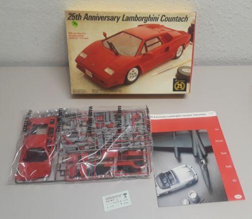 Italeri Testors 25th Anniversary Lamborghini Countach 1/24 Scale NEW
