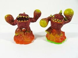 Skylanders Giants Eruptor & Eruptor LightCore Fire Element 2 Figures 201... - $14.48