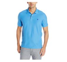 IZOD Men's Advantage Performance Solid Polo, Blue Revival, Size XL - $17.81