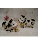 Bordens Elsie Cows Salt and Pepper Shakers Set Vintage Collector Collect... - $24.95