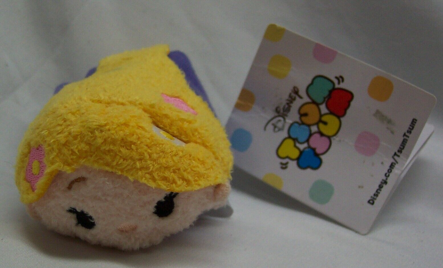 "Primary image for Disney TSUM TSUM Tangled RAPUNZEL GIRL 3"" Plush Toy NEW"