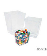 Clear Candy Buckets  - $12.24