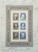 New! The Classic Era Classics Forever Stamps:  (USPS)  FOREVER Stamps 6 - $6.95
