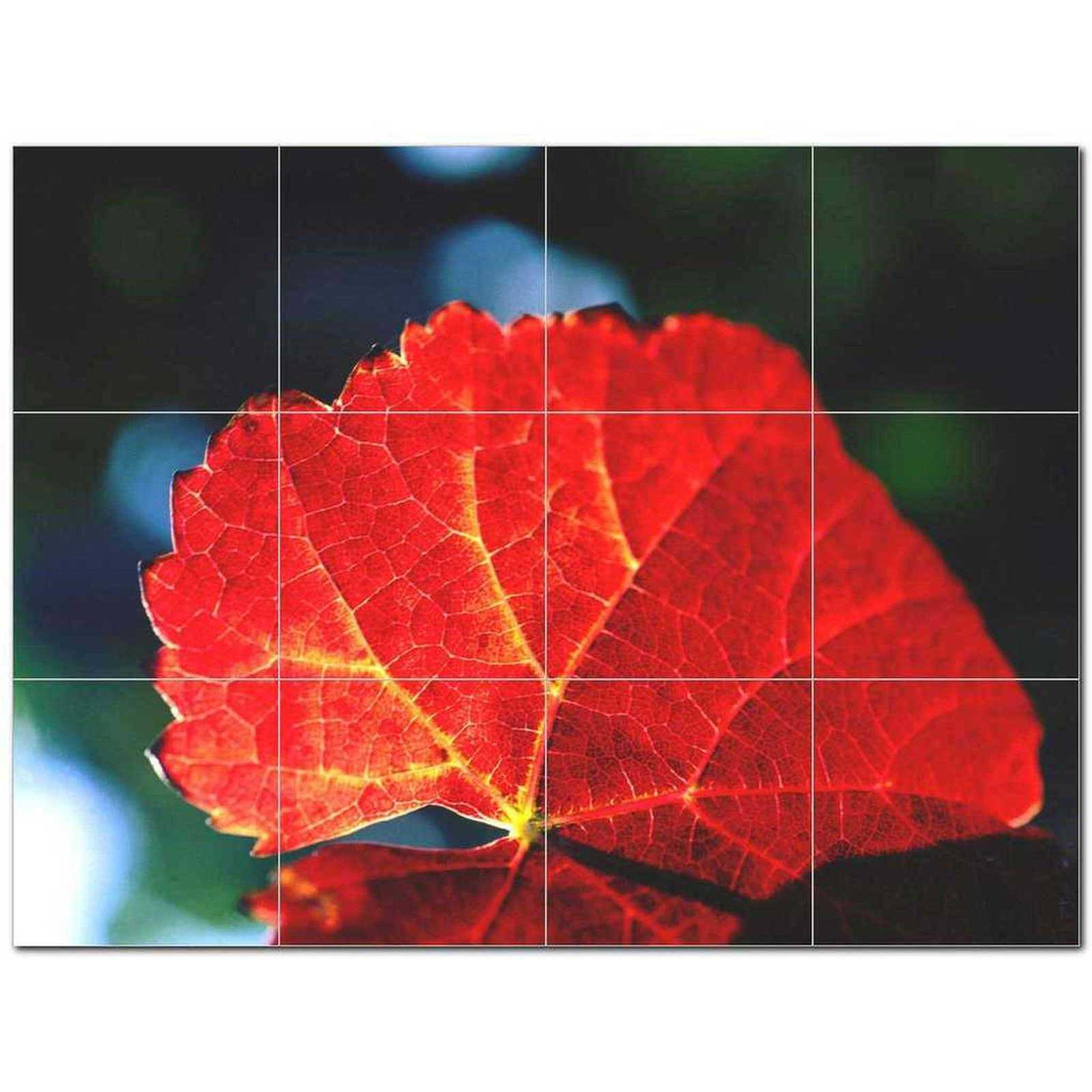 Primary image for Trees Leaves Ceramic Tile Mural Kitchen Backsplash Bathroom Shower BAZ406010